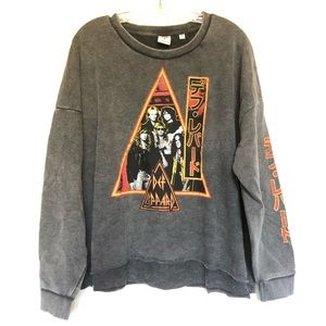 Def Leppard Japan Sweatshirt